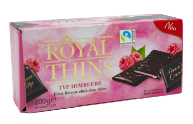 Royal Thins Fruity Himbeere